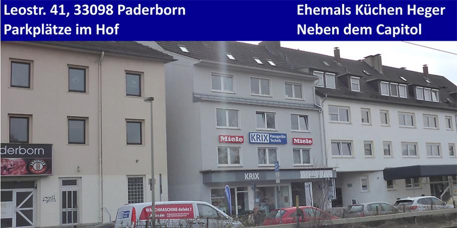 Außenansicht Krix Hausgeräte Technik in Paderborn