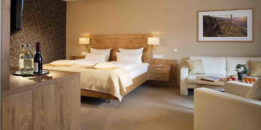 Die Zimmer sind ansprechend und harmonisch eingerichtet