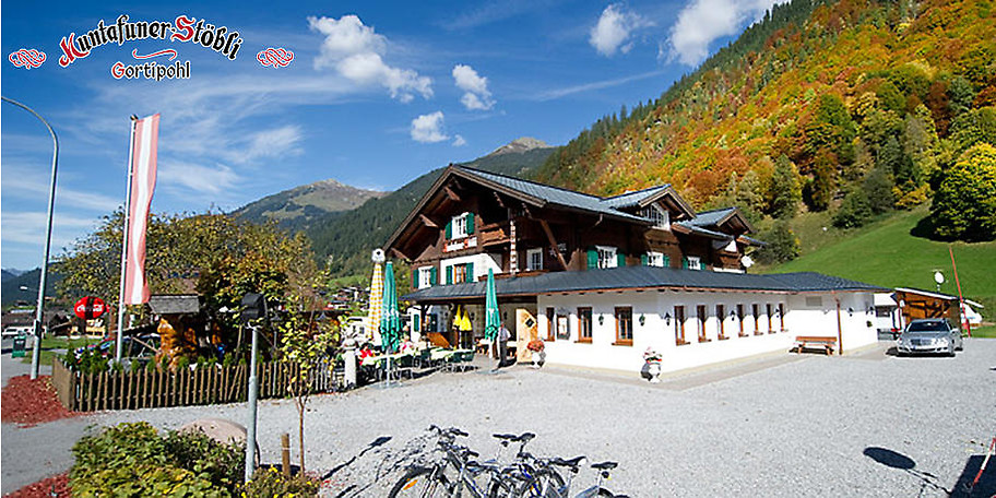 Willkommen im Gasthaus Muntafuner Stöbli