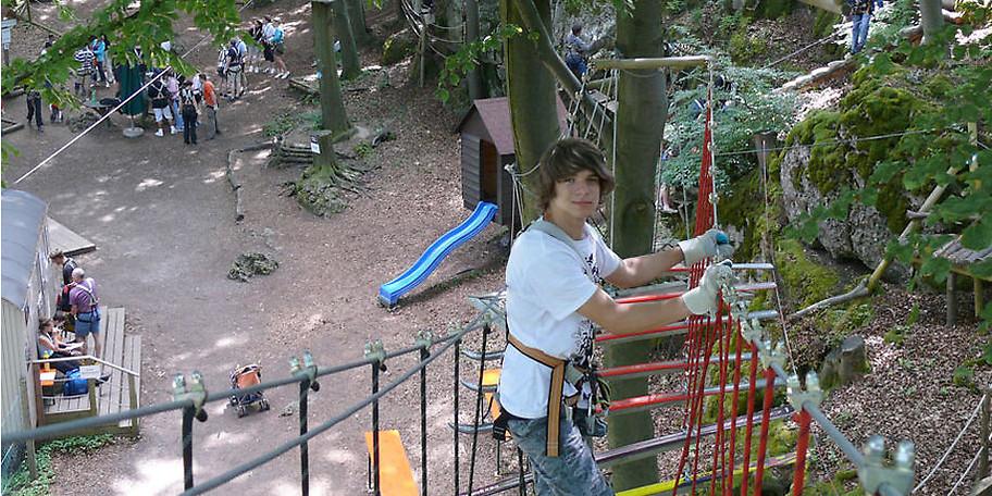 Im Abenteuerpark Betzenstein haben Sie garantiert eine Menge Spaß