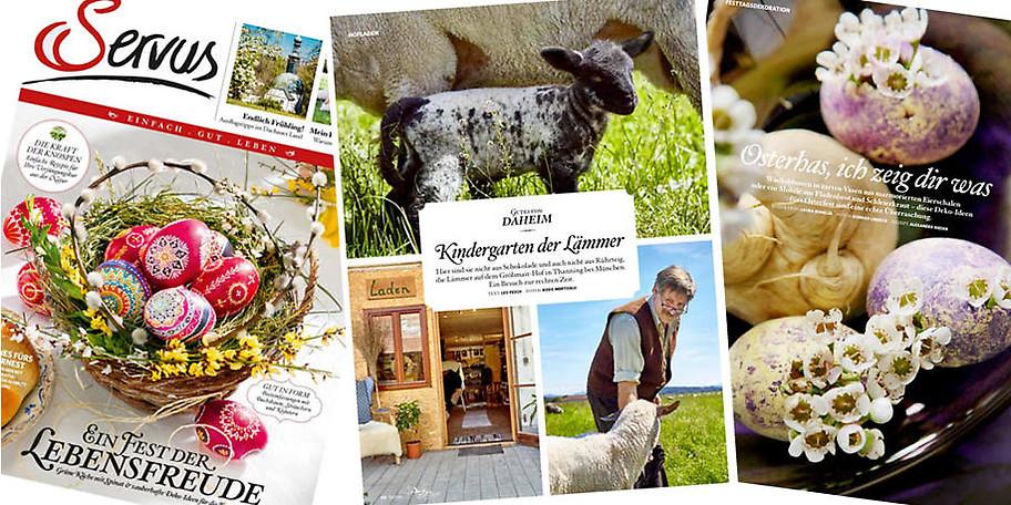 Servus in Bayern ist ein Heimat-Magazin der besonderen Art