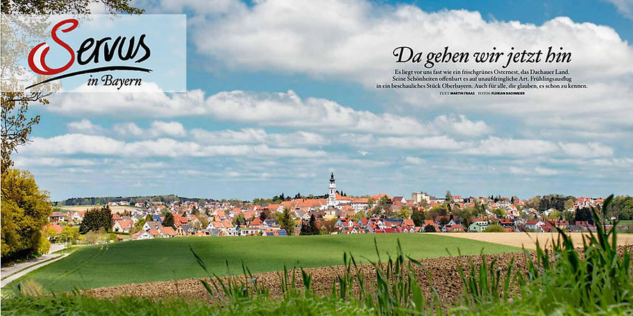 Ihr Jahresabo für das Servus in Bayern Magazin