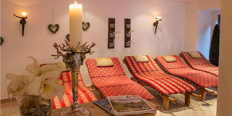 Ruhe und Entspannung in den Ruheräumen des Hotels Stadt Wien