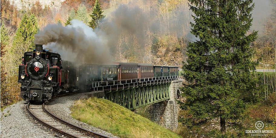 Ideal für Ausflügler, Urlauber und Eisenbahnfreunde