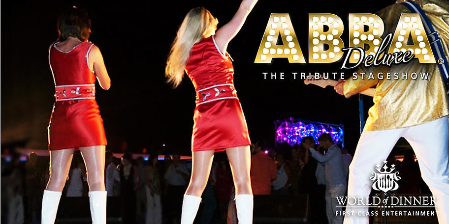 Die Stars aus ABBAMANIA & ABBA GOLD live on Stage!
