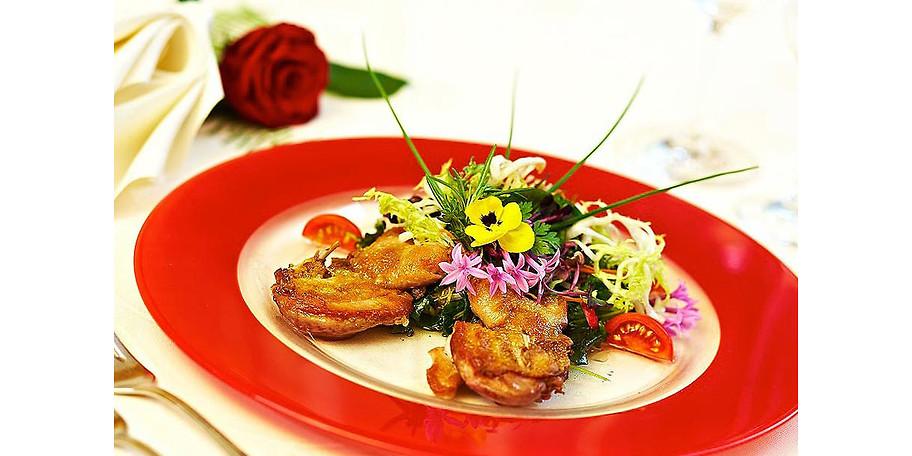 Lecker, frisch, regional - die Küche im Hotel Restaurant Sonne
