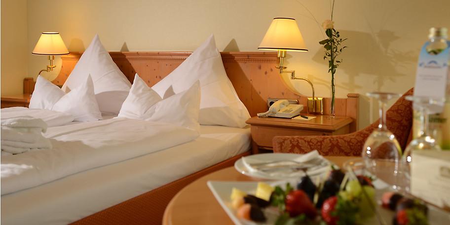 Genießen Sie erholsame Nächte im Hotel Sonnenhof