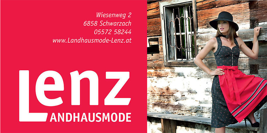 Willkommen bei Landhausmode Lenz in Schwarzach!