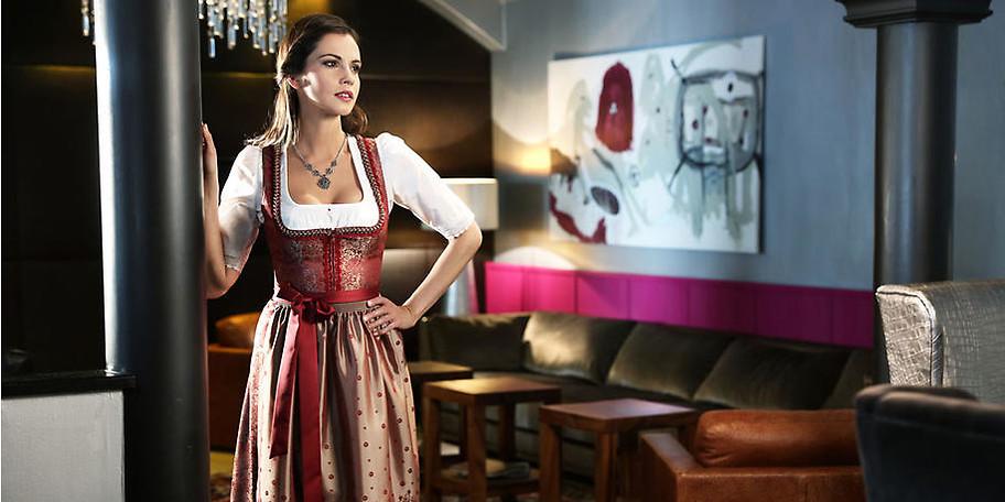 Trachtige und trendige Accessoires von Lenz komplettierten Ihr Outfit