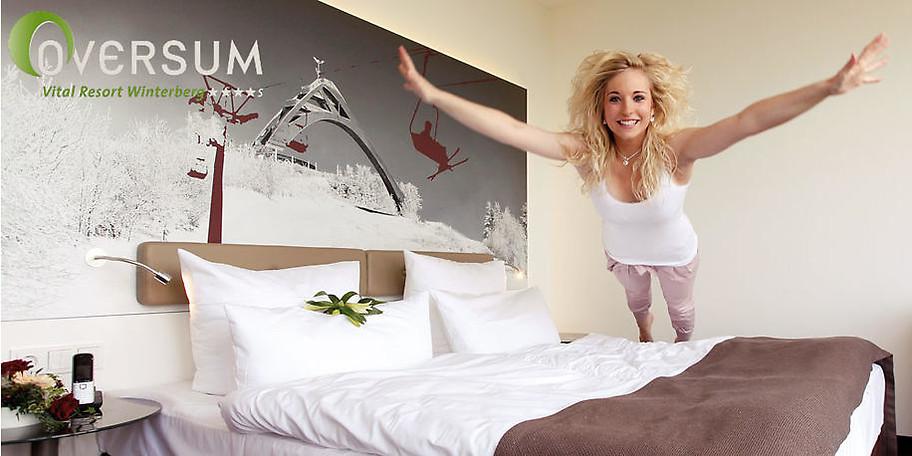 Herzlich Willkommen im OVERSUM Vital Resort in Winterberg im Sauerland