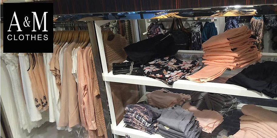Willkommen bei A & M Clothes in Gütersloh!