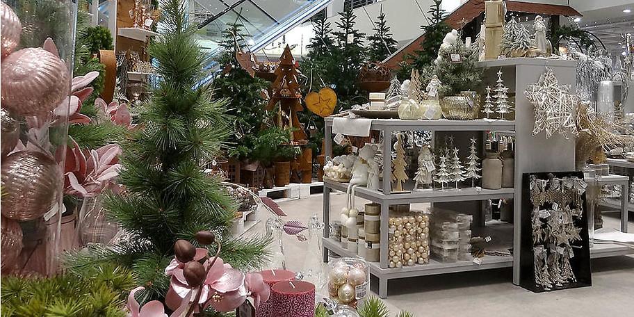 Lassen Sie sich von unserer weihnachtichen Deko verzaubern