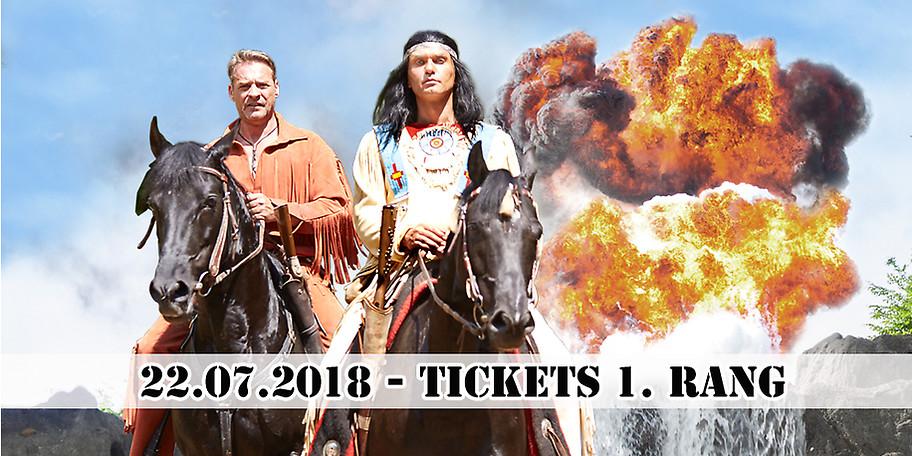 Sichern Sie sich Tickets für die Karl May Festspiele am 22.07.2018 in Elspe!