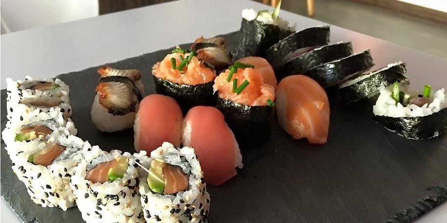 Versuchen Sie unser Sushi aus besten Zutaten