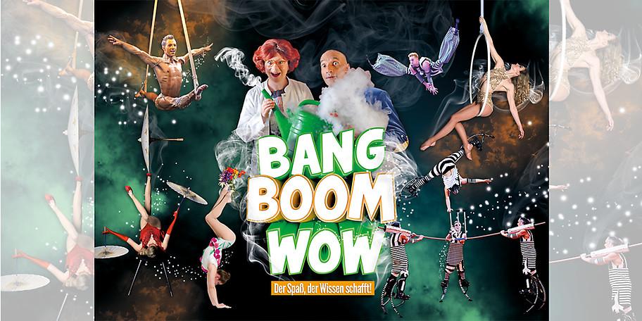 BANG BOOM WOW im Varieté et cetera in Bochum