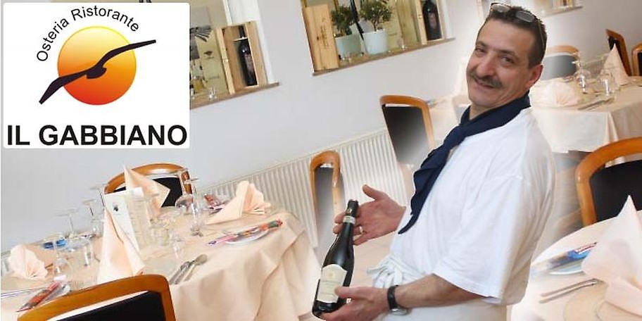 Feinste italienische Küche im Il Gabbiano in Saarbrücken