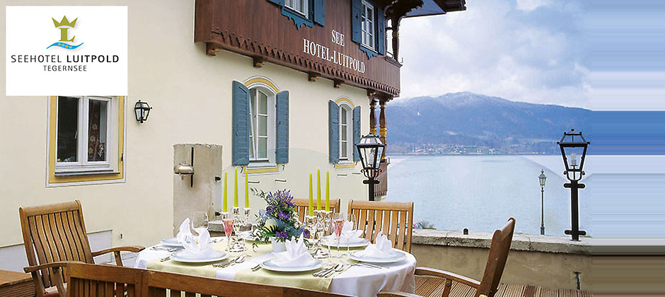 Gutschein für Internationale Küche und die besten Cocktails im Tal von Seehotel Luitpold mit Lake Side Bar