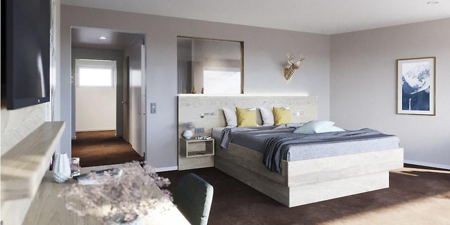 2 Übernachtungen im Doppelzimmer für 2 Personen zum halben Preis!