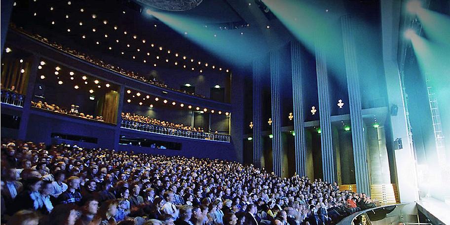 Willkommen im Festspielhaus Füssen, einem der schönsten Theater Deutschlands