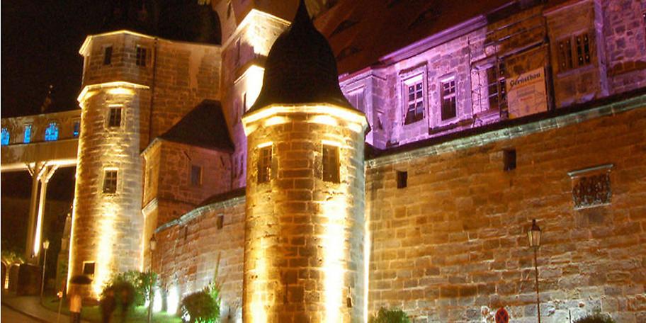 Einst regierte in der prächtigen Schlossanlage aus dem 13. Jahrhundert ein Rittergeschlecht