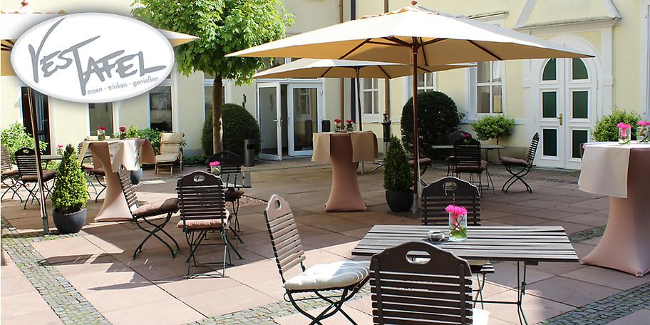 gutschein vesttafel restaurant in der engelsburg 25 statt 50. Black Bedroom Furniture Sets. Home Design Ideas