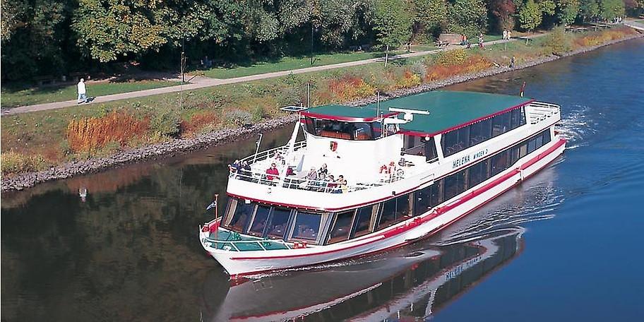 Die Mindener Fahrgastschifffahrt lädt zum Entspannen ein