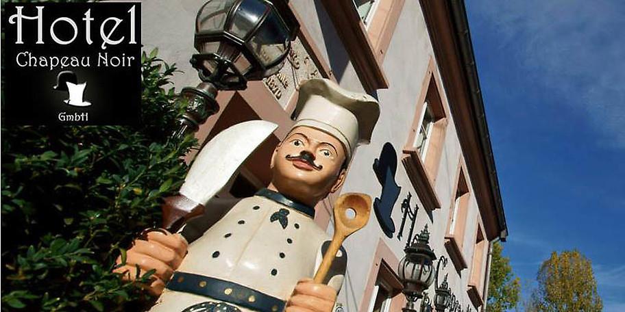Das Hotel-Restaurant Chapeau Noir freut sich auf Ihren Besuch