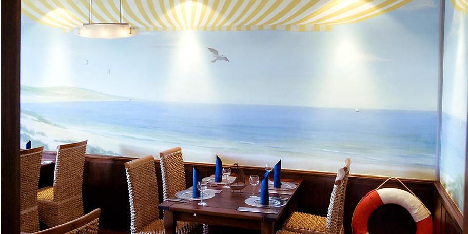 Genießen Sie Ihr Essen im Seepavillon