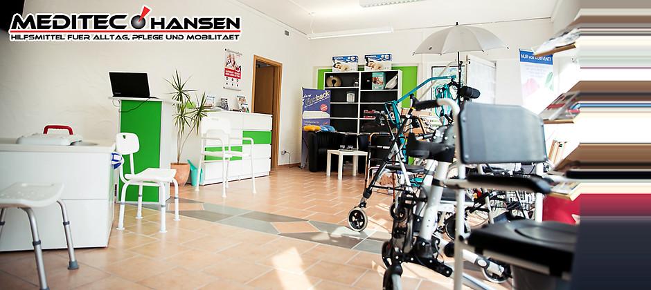 Gutschein für Hilfsmittel für Alltag, Pflege und Mobilität von Sanitätshaus Meditec Hansen