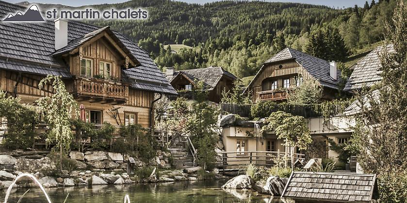 Gutschein für 3 Übernachtungen für bis zu 6 Personen zum halben Preis! von St. Martin Chalets