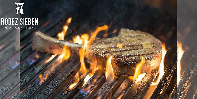 Gutschein für Erstklassige Steaks und das Beste der italienischen Küche von Rodez Sieben