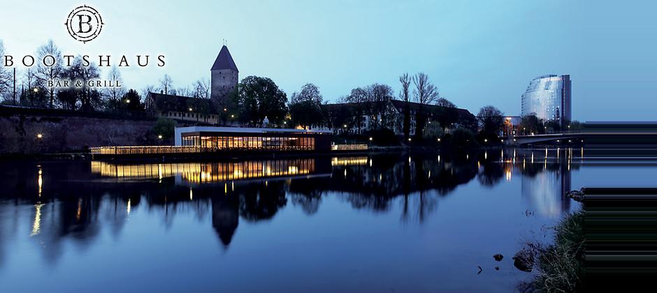 Gutschein für …auf der Donau gelegen von Bootshaus Ulm