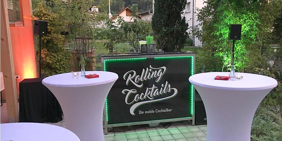 Bei Bedarf kreieren wir einen individuellen Cocktail speziell für Ihren Anlass