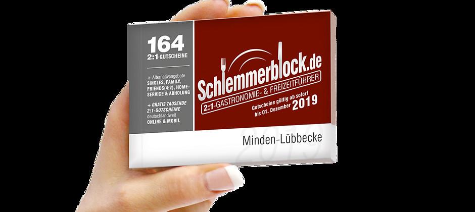 Gutschein für Schlemmerblock Minden-Lübbecke 2019 von Schlemmerblock.de