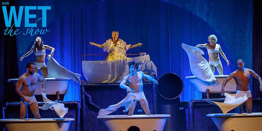 Gutschein für 2 Tickets für WET – the show! in Hamburg zum Preis von einem! von GOP showconcept Theater Kehrwieder