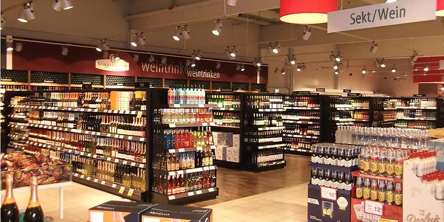 Wein und Spirituosen in vielfältiger Auswahl - hier finden Sie garantiert das richtige Tröpfchen