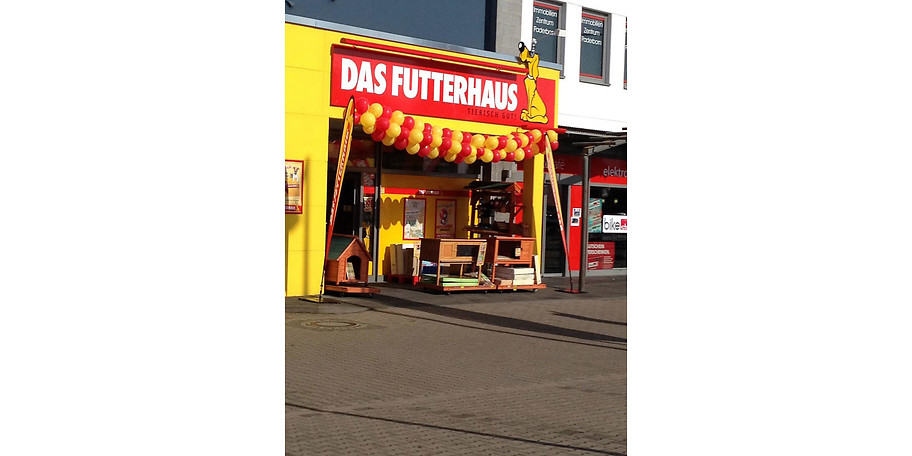Gutschein - DAS FUTTERHAUS - 12,50 € statt 25,-