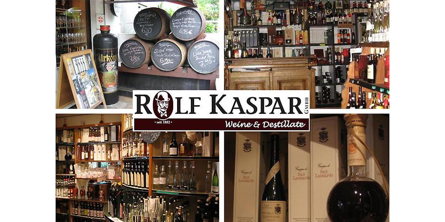 Lassen Sie sich von Rolf Kaspar in die Welt der trinkbaren Genüsse entführen