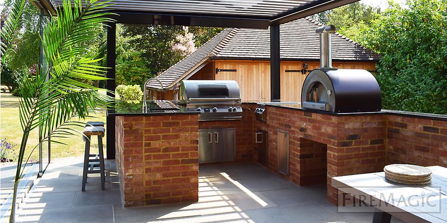 Outdoor-Küchen – Dinieren im Freien