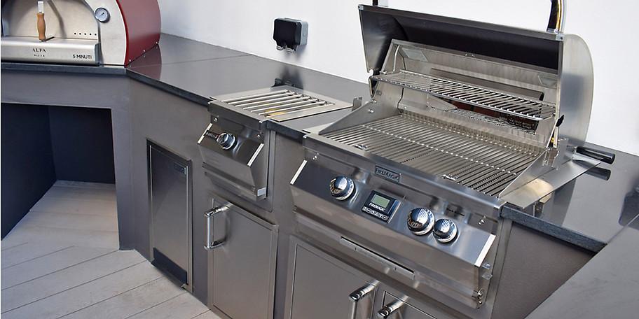 Moderne Outdoor-Küche von FireMagic