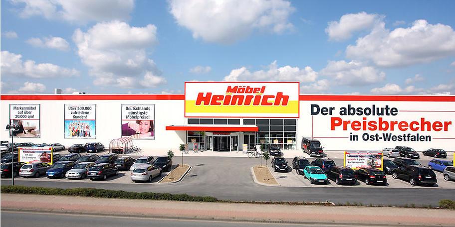 Möbel Heinrich in Kirchlengern - der Preisbrecher in Ostwestfalen!