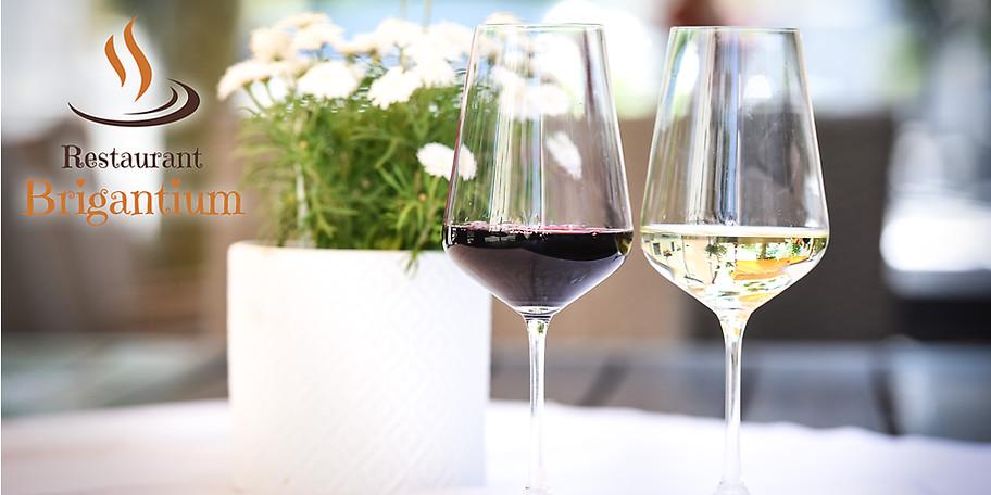 Ausgewählte Weintropfen