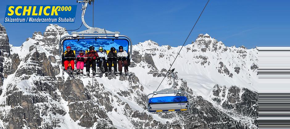 Gutschein für Ihr Tagesskipass zum halben Preis für das Skigebiet mit ganz viel Atmosphäre! von Schlick 2000