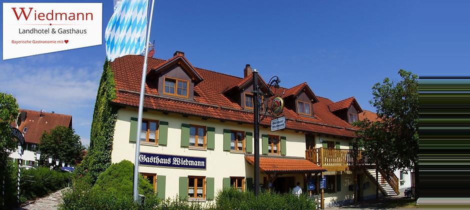 Gutschein für Bayerische Gastronomie mit ♥ von Landhotel & Gasthof Wiedmann