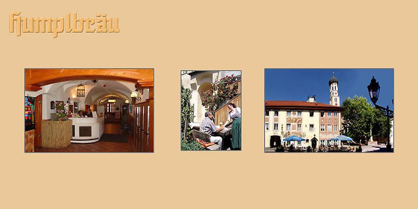 Gutschein für Treten Sie ein... von Hotel-Gasthof Humplbräu