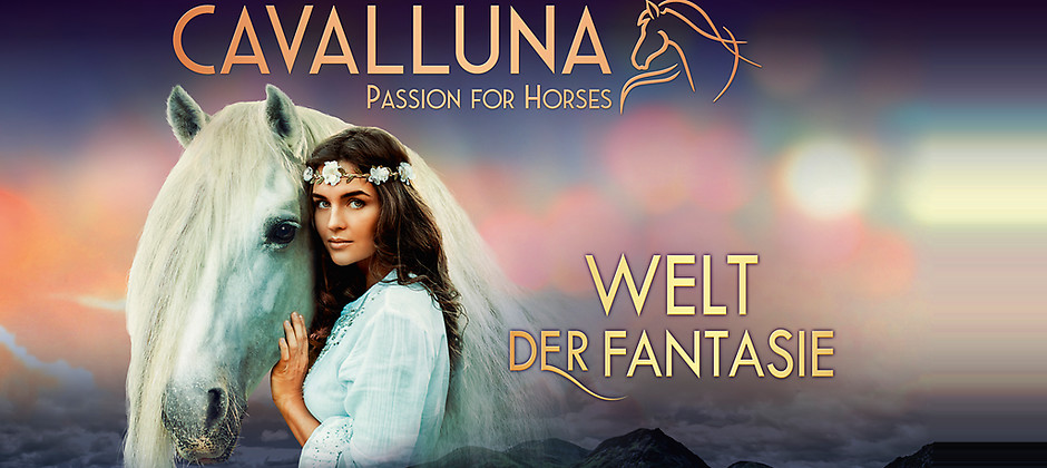 Gutschein für Ihr Ticket für die Show am 17.02.2019 in Nürnberg zum halben Preis! von Cavalluna – Welt der Fantasie
