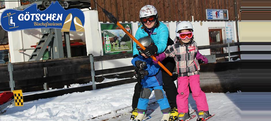 Gutschein für Tagesskipässe (Kinder) zum halben Preis! von Götschen Skilift