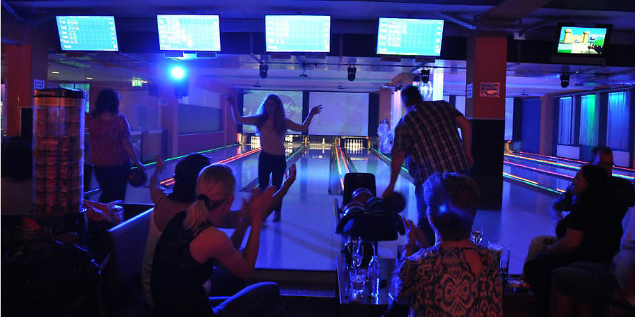 Bowling bietet immer spannende Momente