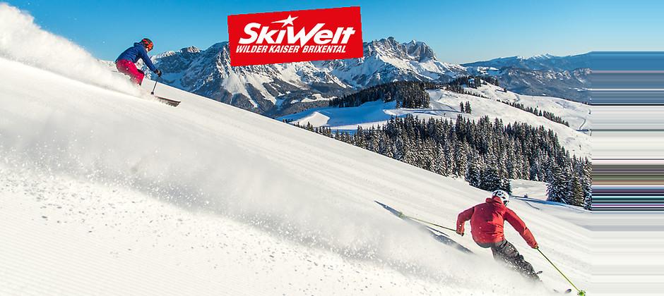 Gutschein für 2 Tagesskipässe zum Preis von einem! von SkiWelt Wilder Kaiser - Brixental