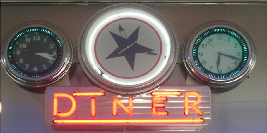 Amerikanische Atmosphäre im Star Diner Essen